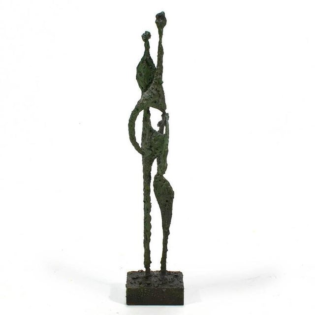 """James Bearden """"One Enters"""" Abstract Sculpture - Image 4 of 6"""