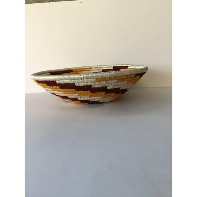African Woven Basket - Image 5 of 7