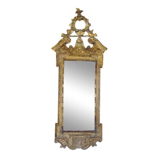 18th Century Italian Giltwood Mirror For Sale