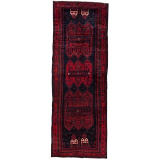 "Apadana - Vintage Persian Bidjar Rug, 5'10"" x 16'10"" For Sale"