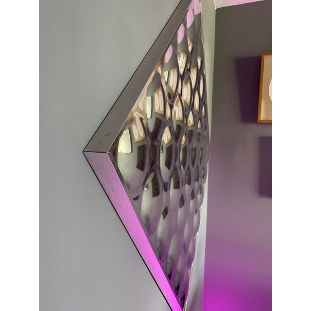Mid-Century Modern Mid 20th Century Turner Glass Company Bubble Mirror For Sale - Image 3 of 6