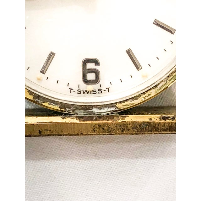 Small Swiss Caravelle Clock - Image 5 of 8