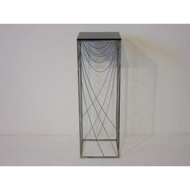 Curtis Jere Sculptural Pedestal For Sale In Cincinnati - Image 6 of 7