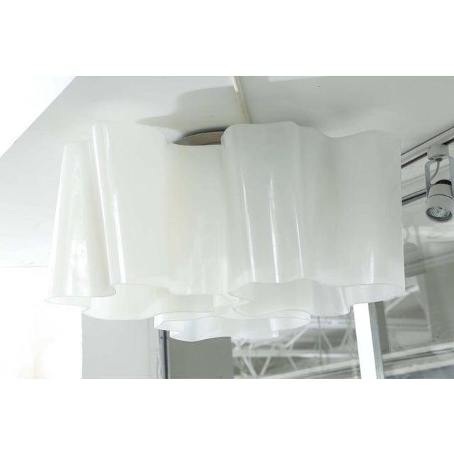 Italian Modern Logico Triple Nested Semi-Flush Mount by Artemide Italy For Sale - Image 3 of 12