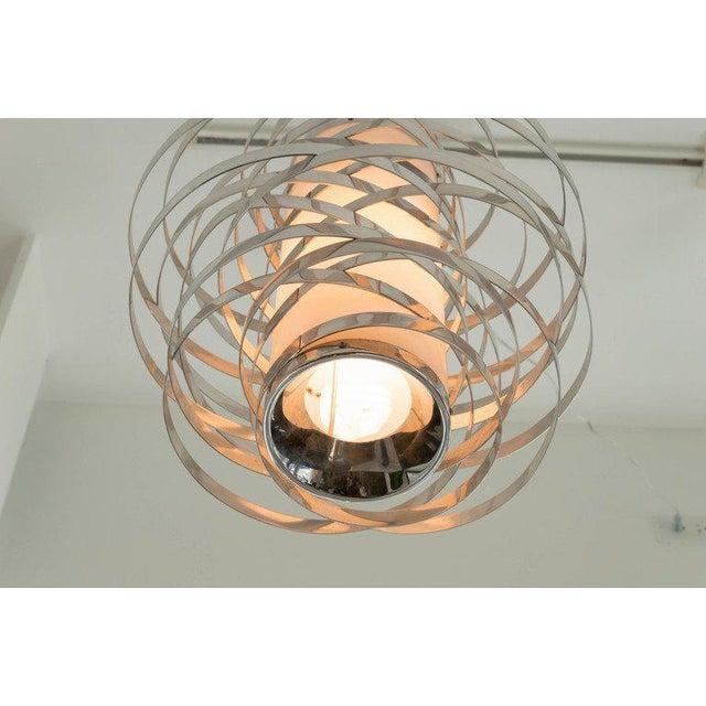 Italian Sciolari Hanging Pendant For Sale - Image 3 of 6