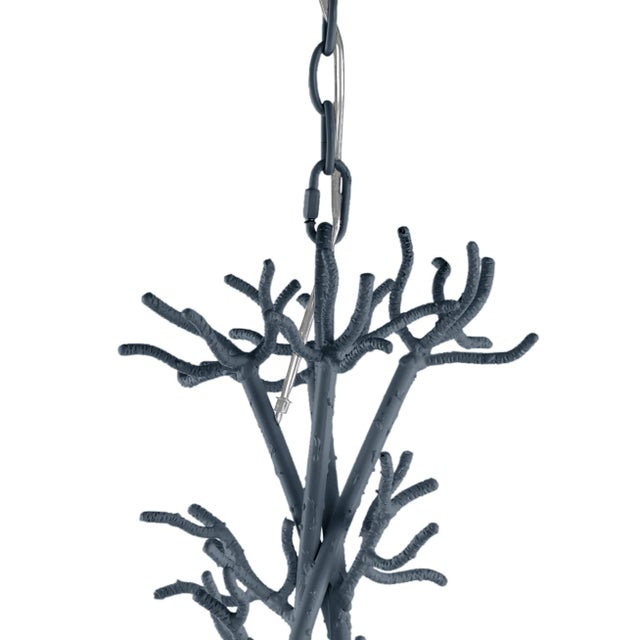 Traditional Calypso Chandelier, Hale Navy For Sale - Image 3 of 4