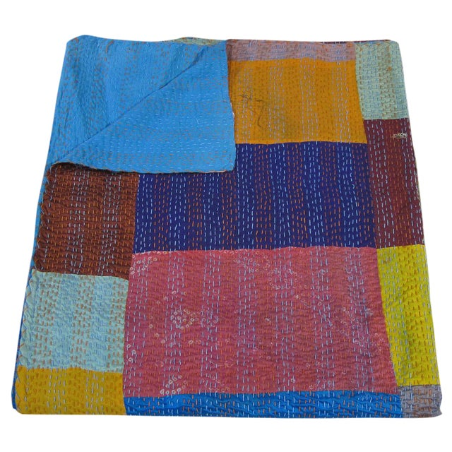 Sarreid Ltd. Silk Bedcover For Sale