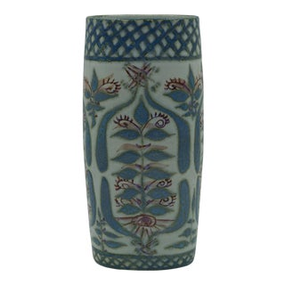 1967 Marianne Johnson Aluminia Tenera Vase for Royal Copenhagen For Sale