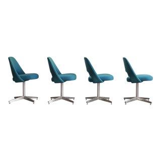 1950s Vintage Eero Saarinen Model 72 Chairs- Set of 4 For Sale