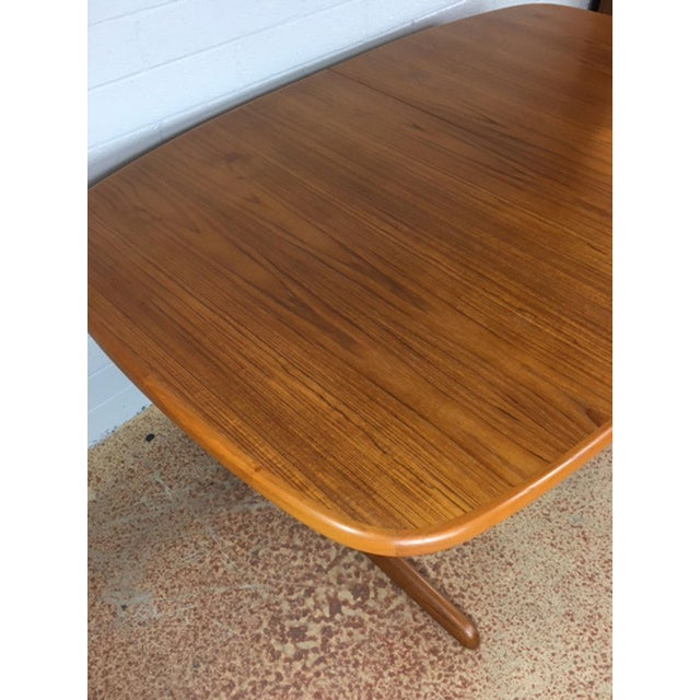Dyrlund Danish Teak Dining Table - Image 7 of 7