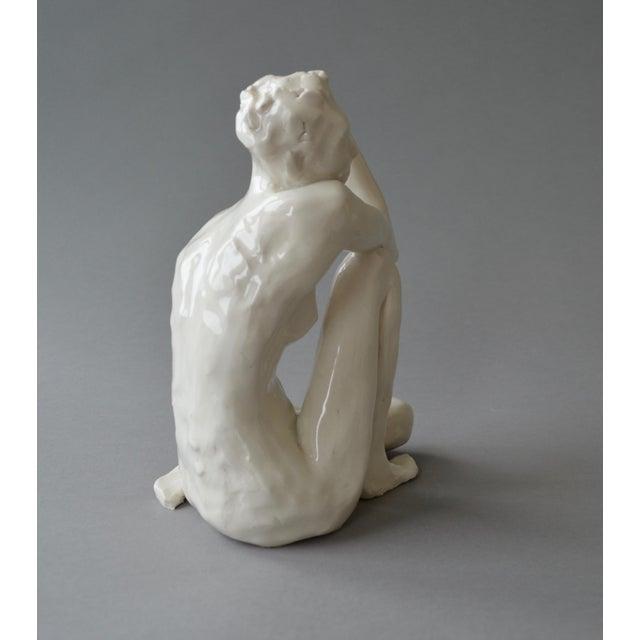 Contemporary Contemporary Ceramic Figurative Maquette For Sale - Image 3 of 10