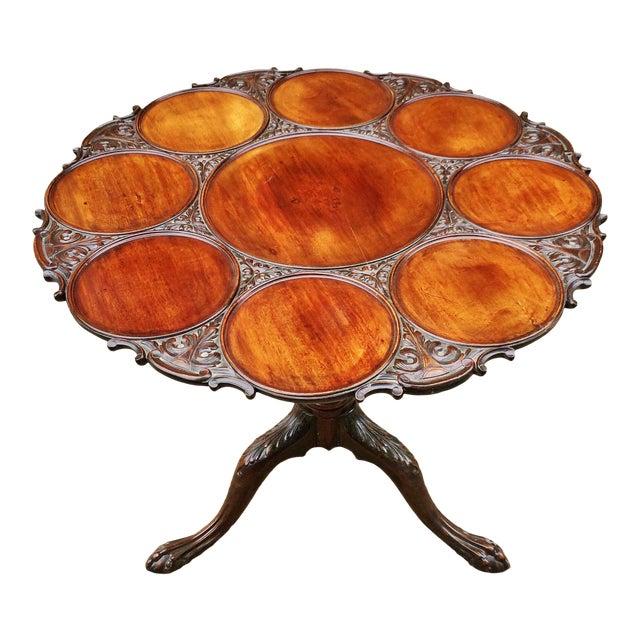 19th Century Georgian Mahogany Tilt-Top Breakfast Table For Sale