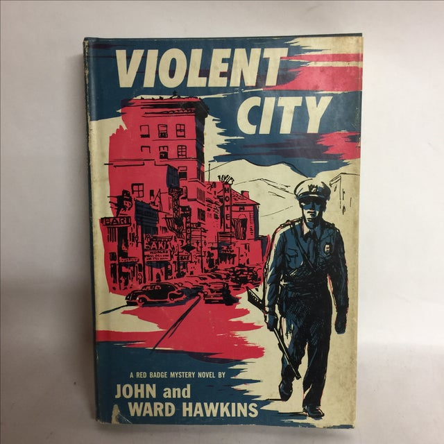 A Red Badge Detective Mystery novel with great kitschy cover art from the 1950s. New York: Dodd, Mead and Co., 1957. First...