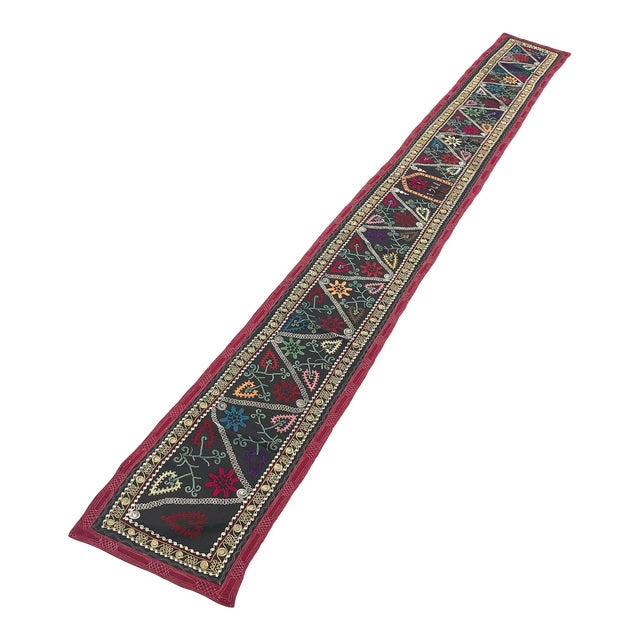 1968 Antique Suzani Wall Hanging For Sale