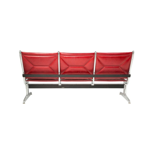 Eames for Herman Miller Tandem Sling Bench For Sale In Los Angeles - Image 6 of 10