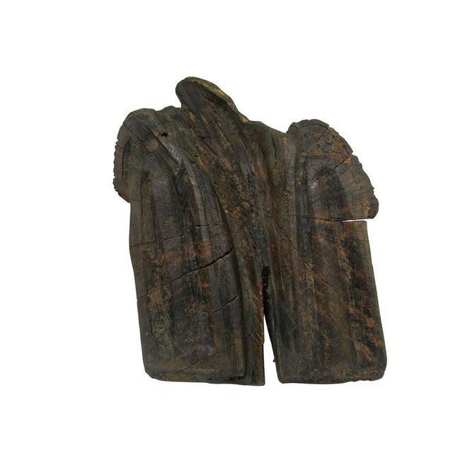 """Folk Art """"Ol' Saddlebags"""" Folk Art Carved Sculpture For Sale - Image 3 of 10"""