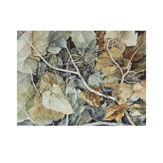 "Roxanna Bergner ""Forest Floor"" Giclee Print - Image 1 of 2"