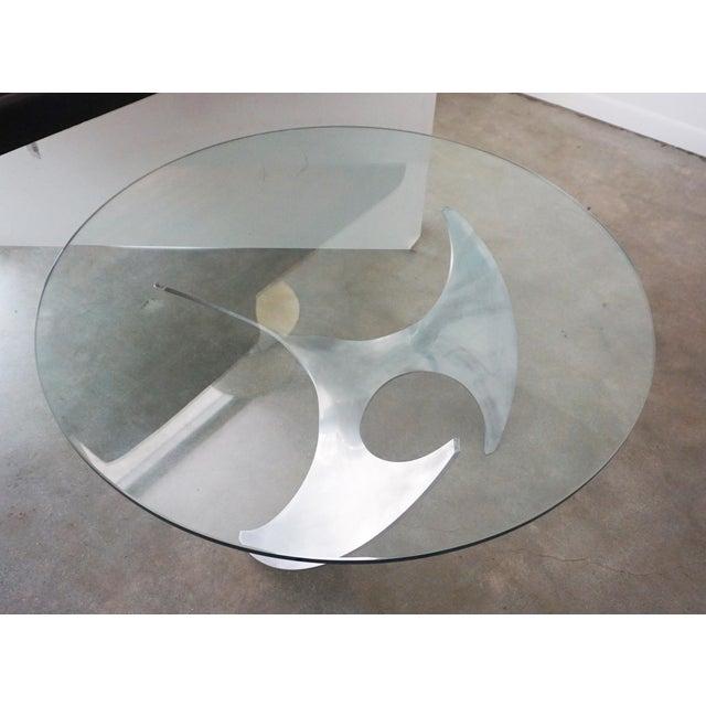 Ronald Schmitt Knut Hesterberg Propeller Cocktail Table For Sale - Image 4 of 6