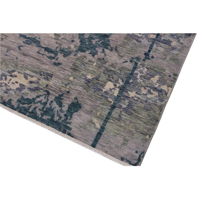 Contemporary Contemporary Turkish Oushak Evelia Rug - 8′8″ × 11′8″ For Sale - Image 3 of 8