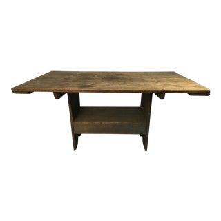 19th Century Rustic Dining Table For Sale