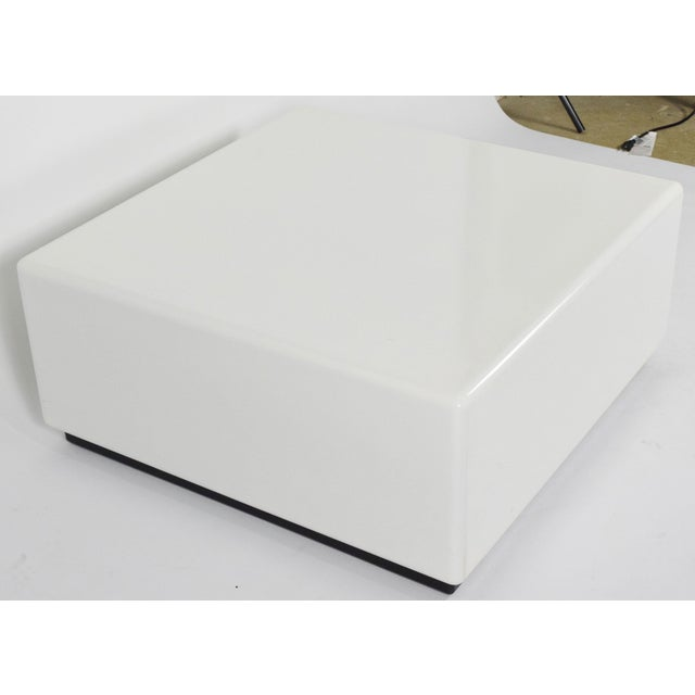 Mid-Century Modern Milo Baughman Cube Style Coffee Table For Sale - Image 3 of 7