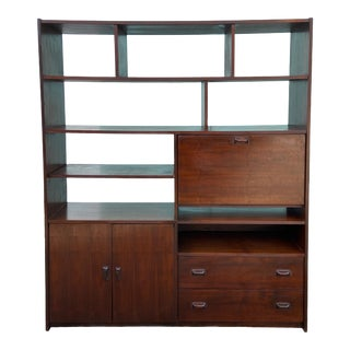 Mid 20th Century Horner Mfg Co Wall Unit or Room Divider For Sale