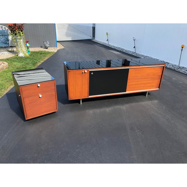 1950s George Nelson for Herman Miller Mid Century Modern Filing Cabinet For Sale - Image 12 of 13