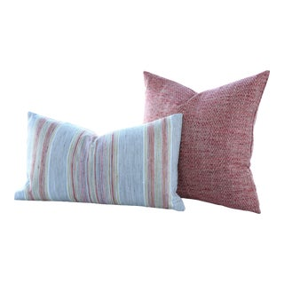 Whisper Gypsy Road & Poppy Artisan Pillow Covers - A Pair