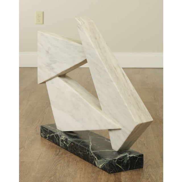 Richard H. Bailey Geometric Marble Sculpture For Sale In Philadelphia - Image 6 of 13