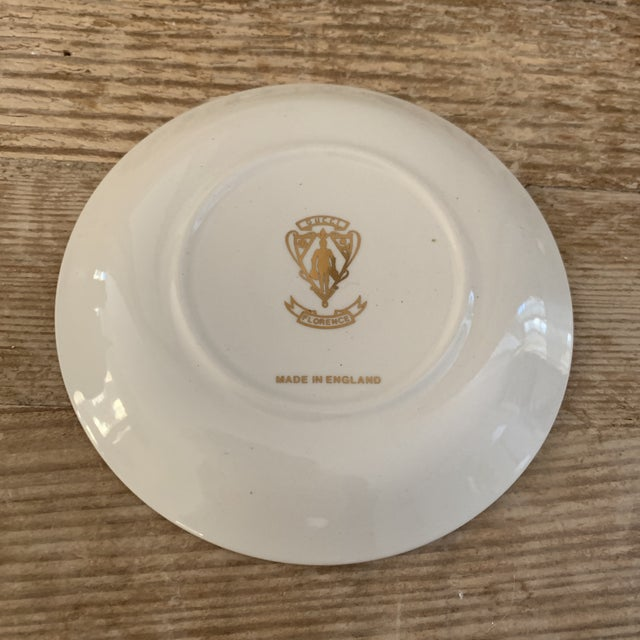 1960s Vintage Gucci Accornero Floral Catchall Ashtray For Sale - Image 5 of 6