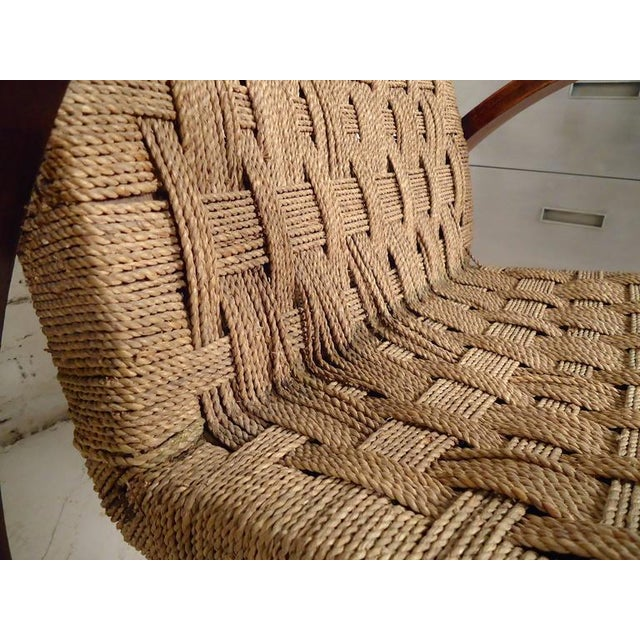 Mid-Century Modern Rope Lounge Chairs in the Style of Bas Van Pelt For Sale In New York - Image 6 of 12