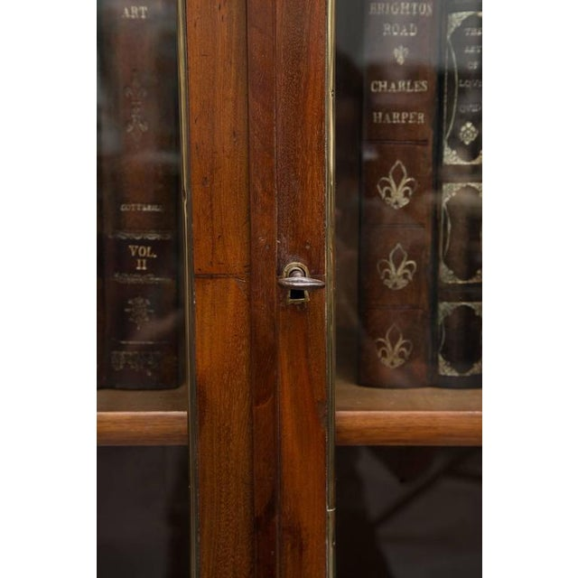 19th Century, Louis XVI Style Mahogany Bookcase For Sale In West Palm - Image 6 of 10