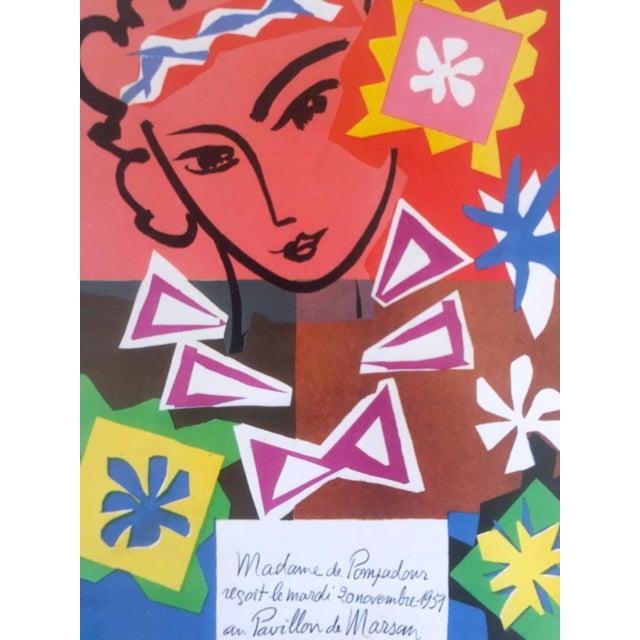 "1989 Matisse Original Vintage ""Bal Arts Decoratifs Mourlot"" Lithograph Print 1951 - Image 5 of 8"