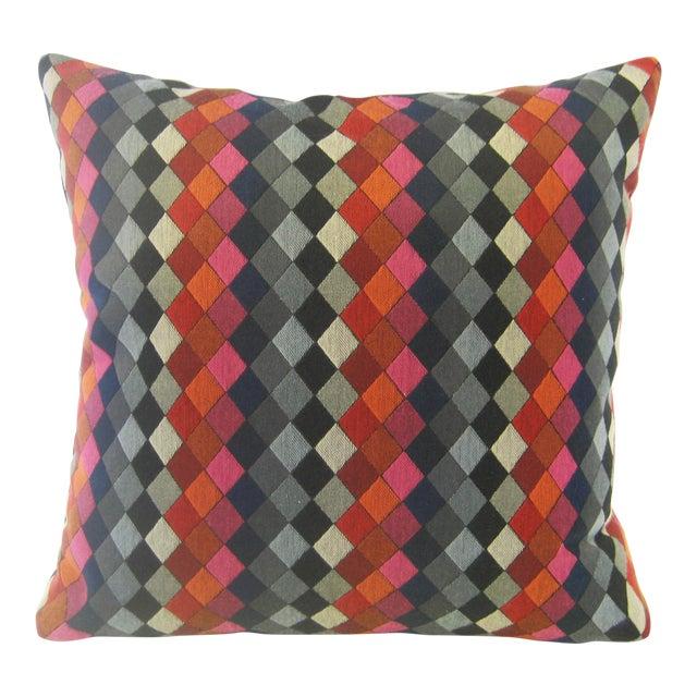 Mid Century Style Pillows : Mid-Century Style Geometric Rombos Pillow Chairish