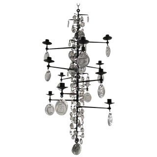 Eric Hoglund Chandelier For Sale