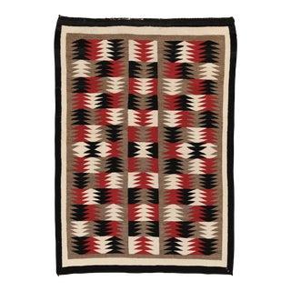 1940s Vintage Navajo Rug - 2′11″ × 4′2″