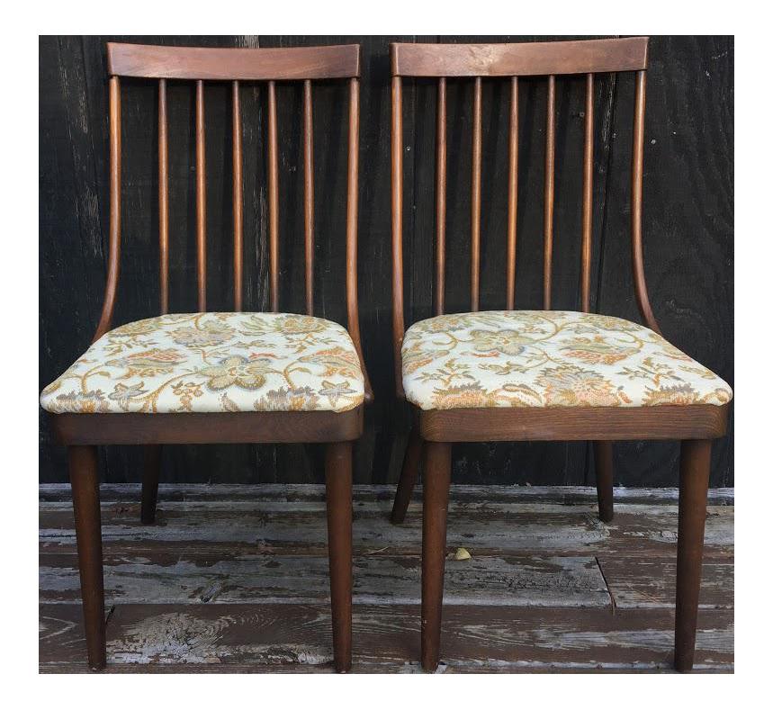 Beau Richardson Nemschoff Side Chairs   A Pair For Sale