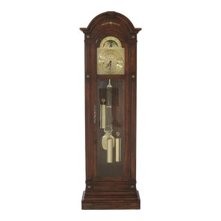 Herschede Cherry Cased Grandfather Clock For Sale