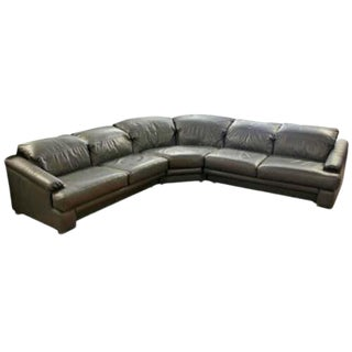 1980s Contemporary Modern Vladimir Kagan for Preview Curved Sectional Sofa - 3 Pieces For Sale