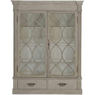 Gabby Grace Farmhouse Style China Display Cabinet
