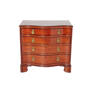 Bachelor's Chest of Satinwood and Mahogany / George III Period