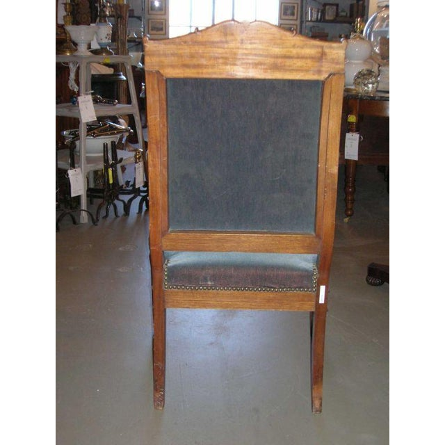 Restauration Period Armchair For Sale - Image 9 of 11