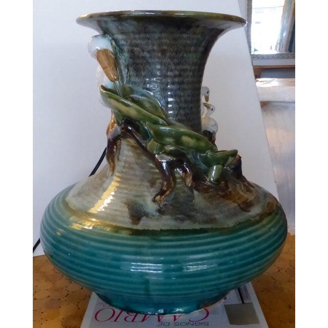 Jar Shape Fountain with Ducks - Image 2 of 10