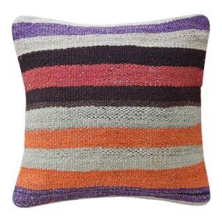 Handmade Turkish Kilim Pillow For Sale