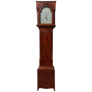 Tall Case Clock, Hepplewhite, 1810 For Sale