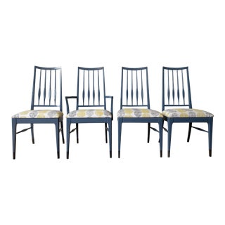 Keller Co. Mid-Century Dining Chairs - Set of 4 For Sale