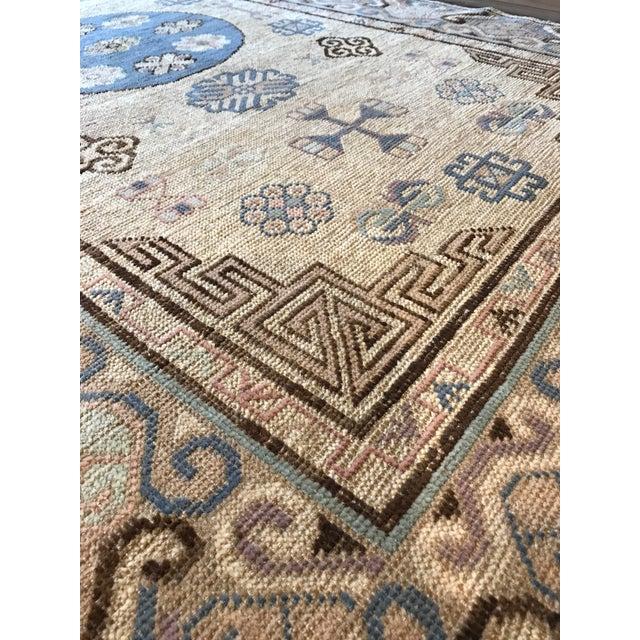 Asian Khotan Rug For Sale - Image 3 of 4