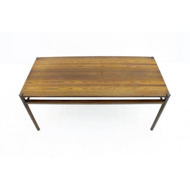 Wood Flip-Top Coffee Table by Ole Wanscher for Jeppesen, Denmark, 1960 For Sale - Image 7 of 8