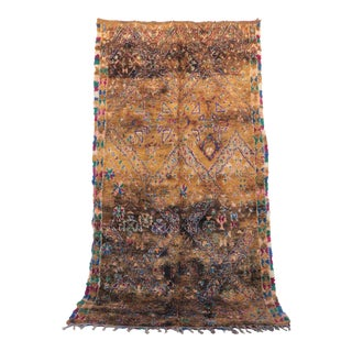 """Moroccan Beni M'guild Rug, 6'10"""" X 12'2"""" For Sale"""