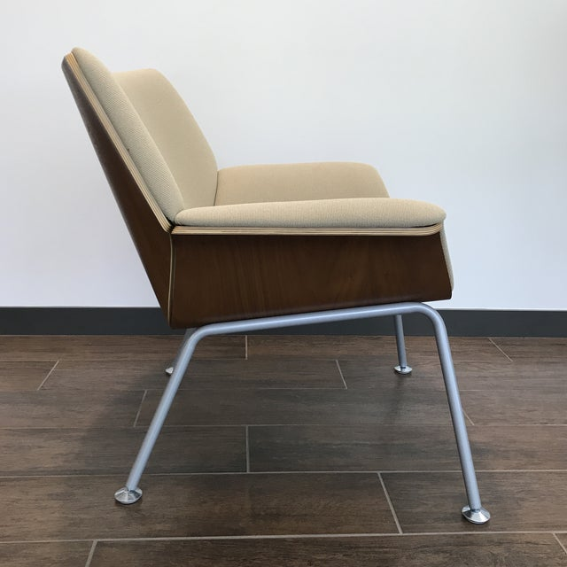 Mid-Century Modern Herman Miller Womb Chair For Sale - Image 3 of 7